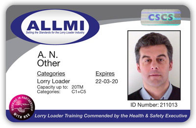 From 1st November, the ALLMI card will carry the CSCS logo